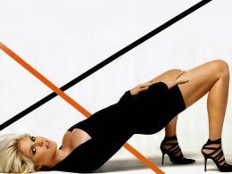 Хайди Клум загуби 100 000 лири заради белег на левия си крак