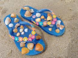В Италия хитови за сезона са сандалите от желе