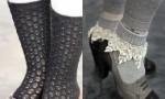 Как да съчетаваме чорапите с облеклото си