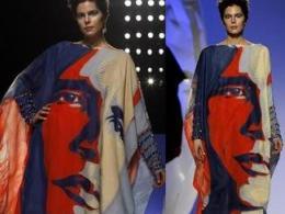 Gattinoni представи рокля с лика на Обама