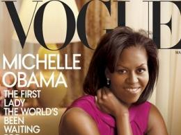 Мишел Обама блесна на корицата на Vogue