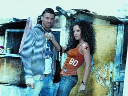 Маги Желязкова и Благо Георгиев снимаха в ромската